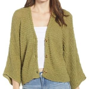 NWT Button front Cardigan